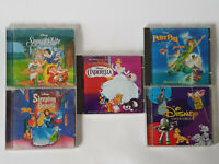 VINTAGE 1990s DISNEY Soundtracks CD Bundle Cinderella,Sleeping,Snow White, PPan