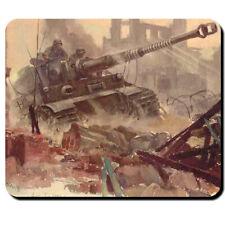 Tiger Panzer Hans Liska Militär Wh Mauspad Wk- Mauspad Mousepad Computer #6370