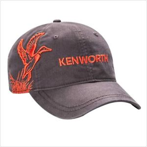 Kenworth Motors Trucker Hat Brown & Orange Mallard Dri-Duck Hunting Cap