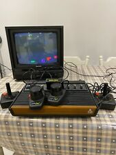 ATARI VIDEO COMPUTER SYSTEM MODEL 2600 WOODY BOX + 5 games EARLY VER