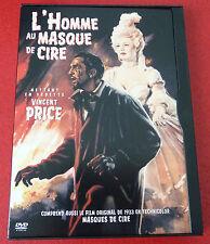 DVD Movie L'homme au Masque de Cire + Masques de Cire ! 1953 Original Story