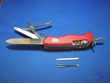 Victorinox Work Champ Lock Blade Swiss Army Knife Multi-Tool in Original Box