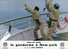LOUIS DE FUNES  LE GENDARME A NEW YORK  1965 VINTAGE LOBBY CARD #1