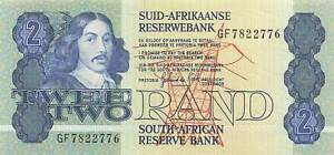South Africa 2 Rand P-115b AU
