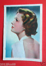 figurine actors acteurs cards nestle stars of the silver screen 47 binnie barnes