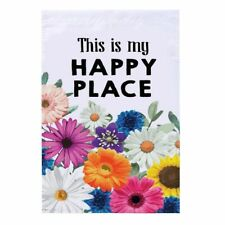 """Juvale Floral Garden Flag, Outdoor Lawn Decoration Double Sided, 12.5 x 18.5"""""""