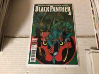 BLACK PANTHER (2016 Marvel) #6 NM 1st Print Amazing Spiderman Ms Avengers Thor