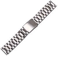 New Stainless Steel Watch Bracelet Strap Solid Band 22mm Straight End Links