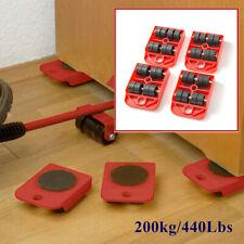 Furniture Move Plate Tool Transport Shifter Moving Wheel Slider Remover Roller