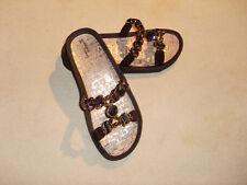 Sandalen schwarz flach von Linea Scarpa  Gr 39/40 NEU