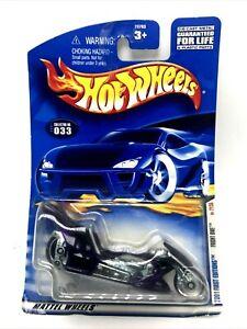 2001 Hot Wheels Premier Éditions Fright Bike Moto Violet #21 De 36 #033 Neuf
