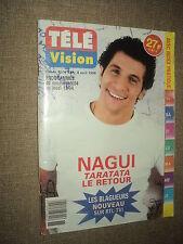 TELE VISION 237 (8/4/99) NAGUI STAR WARS LIANE FOLY SOPHIE MARCEAU CELINE DION