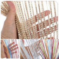 Hanging Beaded Curtain String Wall Window Curtains Tassel Flying Screen Panel