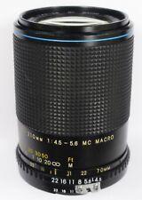 Carl Zeiss 70-210mm f/4.5-5.6 MC Jenazoom II Manual Focus Zoom Lens Nikon AiS