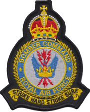 RAF Bomber Command Royal Air Force 1936 to 1952 Mod Crest Embroidered Patch