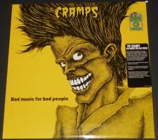 THE CRAMPS bad music for bad people USA LP 2016 new YELLOW VINYL ltd #1395/2000