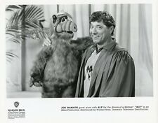 ALF THE ALIEN JOE NAMATH SMILING PORTRAIT ALF ORIGINAL 1990 NBC TV PHOTO