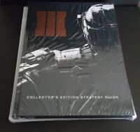 Call of Duty Black Ops III Collector's Edition Strategy Guide Hardcover COD BO 3
