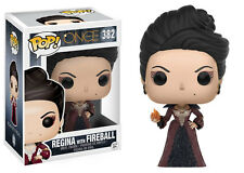FUNKO POP ONCE UPON A TIME 382 FIGURE REGINA EVIL QUEEN WITH FIREBALL SERIE TV 1