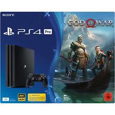 SONY PlayStation®4 Pro (1TB) Schwarz + God of War
