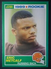 NFL 259 Eric Metcalf Cleveland Browns Rookie Score 1989 (6,4 x 8,9)