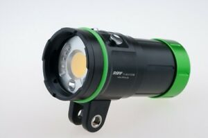 Riff Mlv 3 Cob Videolampe Con Foco Rojo Y Luz Azul