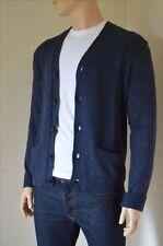 Men's V Neck Wool Blend Jumpers & Cardigans