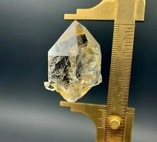 """33.64 g """"Bumble Bee'' Herkimer Diamond Gem with Gorgeous Inclusions!"""