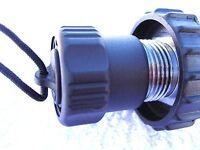 Scuba Diving REGULATOR dive CYLINDER valve DIN cap plug BOTTLE reg DIVER tank !!