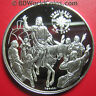 1999 ANDORRA 10 DINERS .94oz SILVER PROOF JUBILEE 2000 JESUS ON DONKEY JERUSALEM