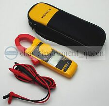 FLUKE 302+ Handheld Digital Clamp Meter Multimeter Tester with Soft Case KCH16