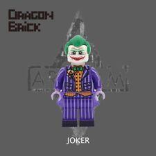DRAGON BRICK Custom Arkham Joker Lego Minifigure