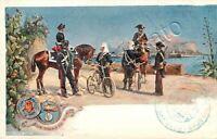 Legione carabinieri reali di Palermo / illustratore Rinaldi