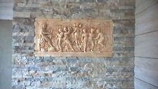 RELIEF ANTIK STYLE GREEK WANDRELIEF WANDBILD GIPS GRIECHISCHE MYTHOLOGIE