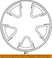 Dodge CHRYSLER OEM 10-12 Caliber Wheel Cover-Hub Center Cap 5151424AA