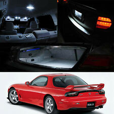 Mazda RX7 FD3S White LED Interior Bulb Package (Map Dome Trunk License Plate)