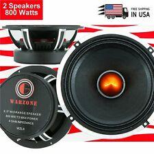 2x Gravity 6.5″ Car Audio speaker Pro Midrange Bullet Loud Speaker 800W 4 ohm