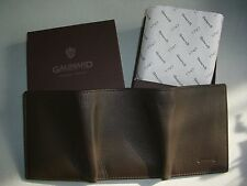 porte-monnaie billets cartes   GALIMARD cuir marron neuf