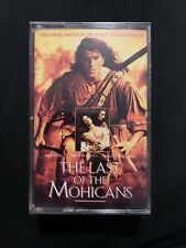 The Last Of The Mohicans The Original Motion Picture Soundtrack Cassette Tape