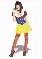 Snow White Adult XS Halloween Costume Secret Wishes Fairy Tale Maiden Sexy