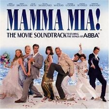 MAMMA MIA: ORIGINAL MOVIE FILM SOUNDTRACK CD ABBA / MERYL STREEP / NEW
