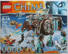 LEGO 70145 Legends of Chima Maula's Ice Mammoth Stomper Boy Mottrot 2014 NIB NEW