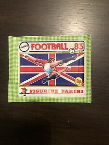 Panini UK football 83 1983  Unopened Sticker Packet