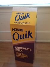 giant advertising chocolate milk quik store display prop diner huge large big