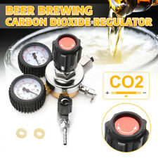 More details for uk  dual gauge beer brewing co2 gas regulator carbon dioxide homebrew soda draft