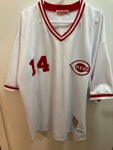 Mitchell Ness Cubs Pete Rose jersey size 3xl