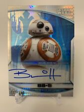 New listing Star Wars Chrome Perspectives Bb-8 (Brian Herring) Prism Autograph #021/250