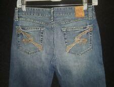 Women BKE Star Stretch Flare Buckle Jeans Size 27 x 31. 5 EUC