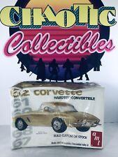 AMT 62 Corvette Hardtop/Convertible Kit 2205 1:25 Scale Factory Sealed