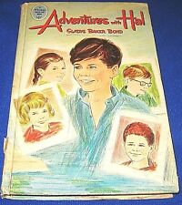 Vintage 1965 Adventures with Hal Book by Gladys Baker Bond-Whitman Publishing